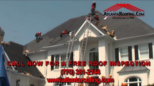 Atlanta Roofing Commercial Spot