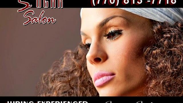 Sugar Salon Natural Hair Promo